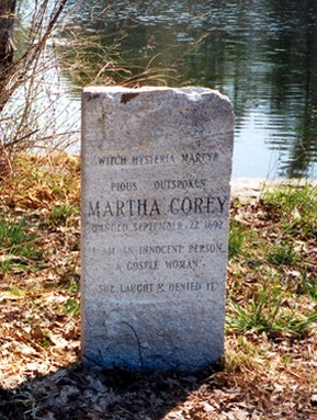 martha corey Martha corey, the third wife of salem village farmer giles corey, had at least one son from a previous marriage (thomas)local gossip rumored that in 1677, while married to henry rich with whom she had her son thomas, martha gave birth to a mulatto son.