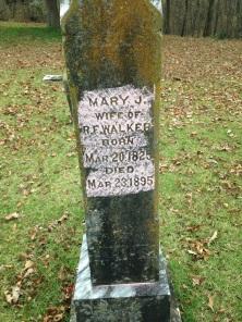 (FALLS) WALKER, Mary (grv mrkr)--FAG, Diane