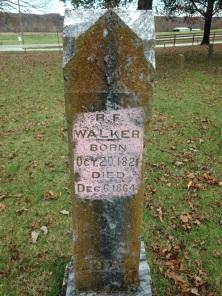 WALKER, R. F. (1821-1864) (grv mrkr)--FAG, Diane