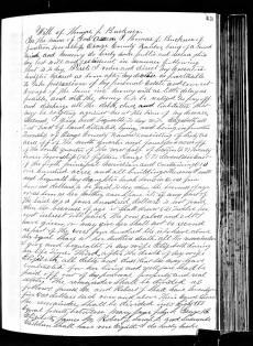 BUCKNER, Thomas Jefferson (1810-1875)_Will, p. 1of2